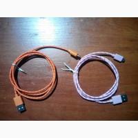 Зарядной шнур (кабель) micro USB (для android) Data-кабель. Нейлон. 1м