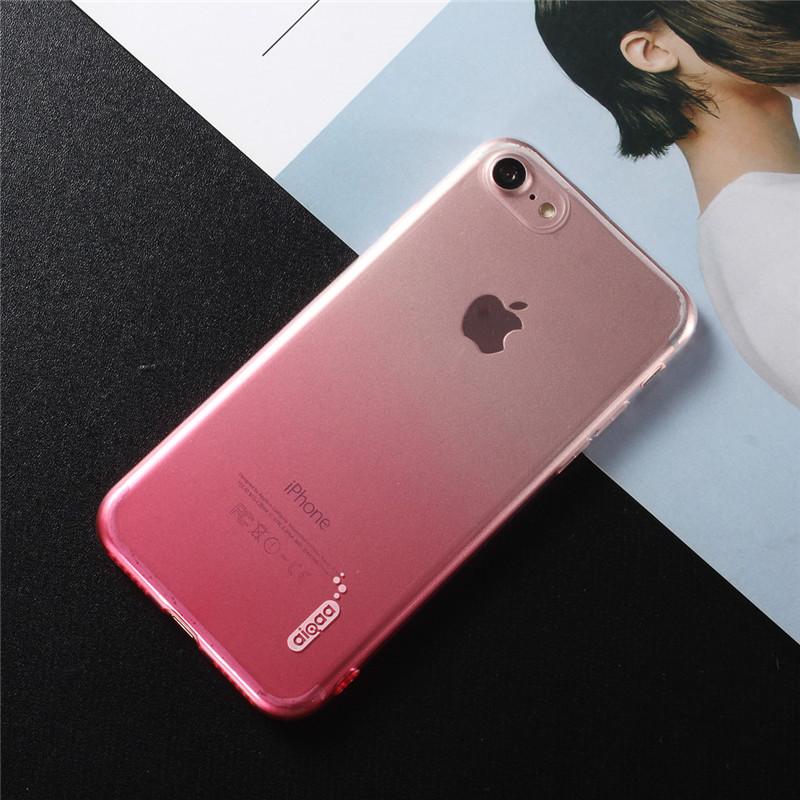 Фото 2. Чехол Бампер на iPhone 6 plus Полукрасный