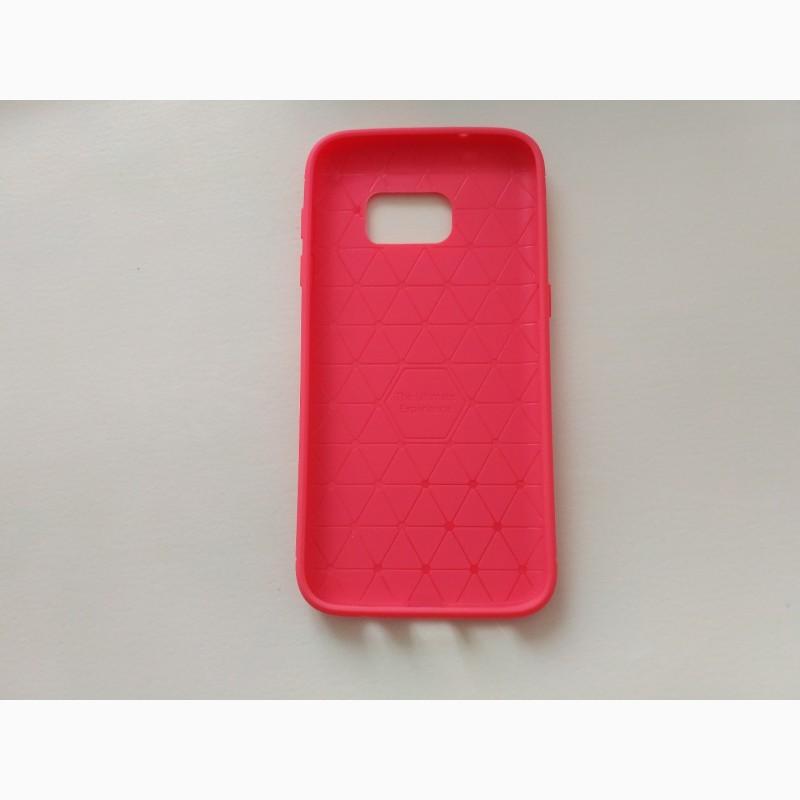 Фото 2. Чехол Бампер Samsung S7 Красный