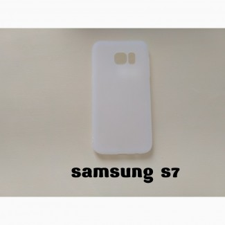 Чехол Бампер Samsung S7 Белый