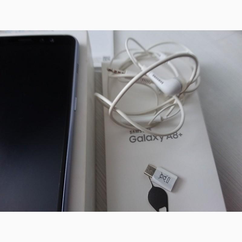 Фото 8. Продам смартфон SAMSUNG А 8 + в отличном состоянии