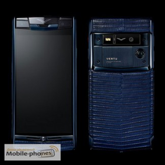 Vertu Signature Touch Pure Black Navy Blue, Verty, верту, копии vertu