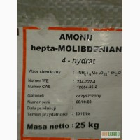 Аммоний молибденовокислый