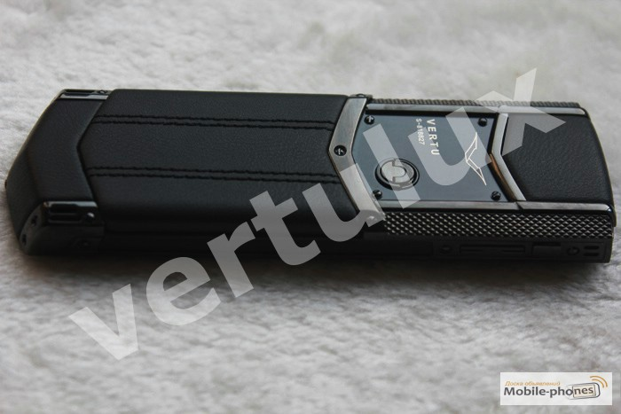 Фото 2. Vertu Signature S Design For Bentley Pure Black, Vertu, реплика Vertu, Копии Vertu
