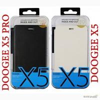 Чехол-книжка Doogee X5, X5 pro + закаленное стекло - оригинал ! г. Львов